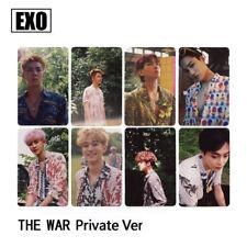 EXO THE WAR KOKOBOP Cards 8pcs Set CHANYEOL CHEN XIMIN SEHUN Private Photocard
