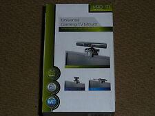 UNIVERSALE SUPPORTO MONTAGGIO TV PS3 PSMove CAMERA XBOX EYE 360 KINECT Sensore Nuovo di zecca!