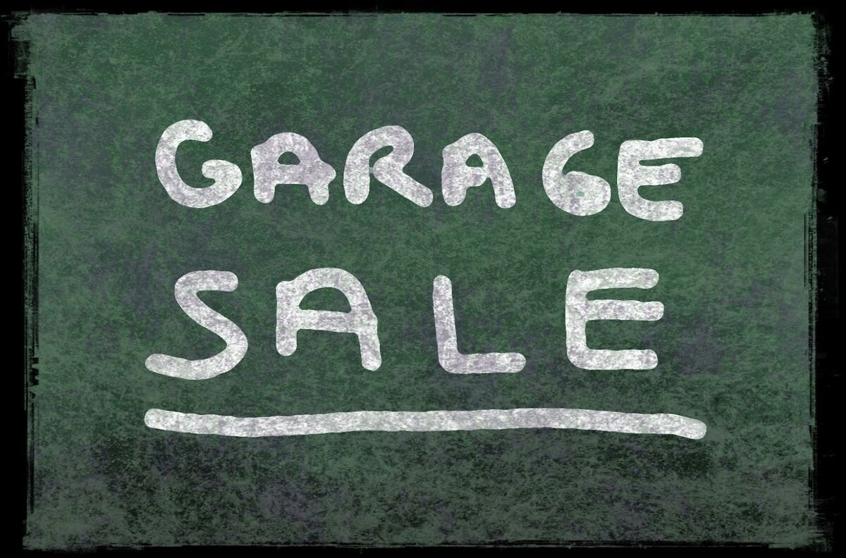 Our Garage Sale - Our House to YOU!