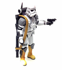"Star Wars Force Unleashed Video Game IMPERIAL EVO TROOPER 3.75"" figure toy  RARE"