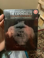 The Expendables Bulletproof Limited Edition Bluray Steelbook