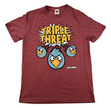 Angry Birds Mens Triple Threat Shirt New S