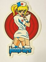 Hook Ups HOOK-UPS Vintage Skateboard Sticker, Original, Genuine Series #92281319
