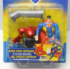 Superman Power Swing Action Figure Kenner 1998 SUPERMAN The Animated Series NIP