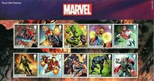 More details for royal mail stamps presentation pack 568 marvel (2019) includes m/s. free uk p&p