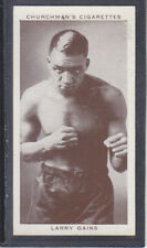 Churchman - Boxing Personalities 1938 - # 17 Larry Gains