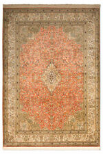 Tapis orange indiens pour la maison