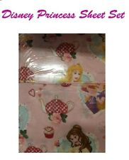 Disney Princess Single Bed Sheet Set Bedroom Home Decor