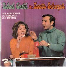 45 T EP  ROBERT CASTEL & LUCETTE SAHUQUET *LES PUBLICITES*