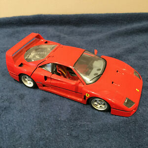Bburago 1:18 Ferrari F40 Diecast Car - MODIFIED: READ DESCRIPTION