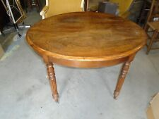 Table ovale  ancienne,  table Louis Philippe, table ovale acajou