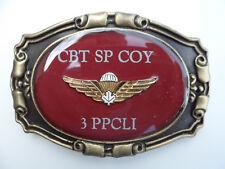 CBT SP COY 3PPCLI  Western Belt Buckle w/Canadian Medium Airborne Wing