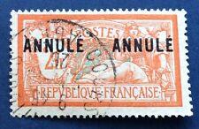 Annulé N°145 C I 1 2 F Orange Oblitéré TTB Qualité Cote168€