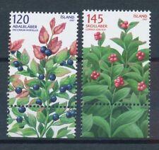 Postfrische Briefmarken mit Motiven als Satz aus Island