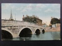 Bedfordshire: BEDFORD The Town Bridge - Old Postcard by G.& D.L.