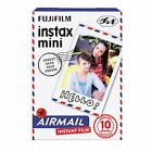 AU - - Fujifilm Instax Mini Film AIRMAIL x 1 Pack 7s 8 25 50s 90 Fuji SP-1