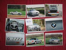 N°9970 / BMW Z3 coupé et cabriolet  24 photos couleurs 1996-1997