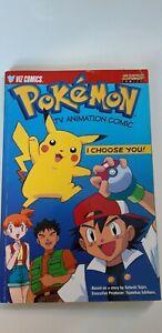 POKEMON TV Animation Comic, by Tajin,Satoshi Paperback Book - RARE