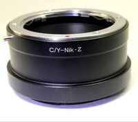 C/Y Contax/Yashica Lens mount adapter to Nikon Z 6 Z7 mirrorless Cameras