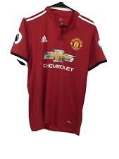 Lukaku Manchester United Jersey 2017 2018 Shirt M Home Bs1214 Soccer Adidas red