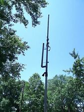 2 meter HD Dual Band Collapsible 3/4 inch Copper J Pole Antenna- FREE SHIPPING