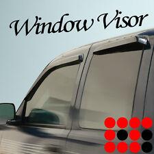 99-13 FORD F250 F350 SUPER DUTY CREW CAB WINDOW VISOR SUN SHADE GUARD DEFLECTOR