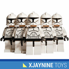 LEGO STAR WARS Clone Trooper Minifig Squad Five Pack Clone Wars Version NEW