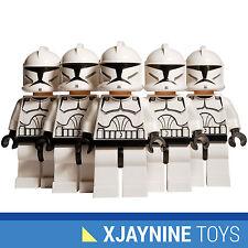 LEGO STAR WARS Clone Trooper Minifig Squad Five Pack Clone Wars Version NEW