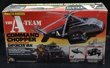 1983 LJN the A-TEAM Rough Riders COMMAND CHOPPER w/ Enforcer Van playset RARE !!