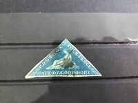 Cape of Good Hope 1863 used  Triangle   stamp  R29523