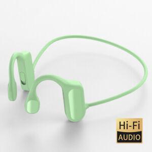 Bluetooth 5.2 Bone Conduction Headset Wireless Outdoor Sport Open Ear Headphones
