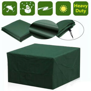 Heavy Duty Garden Patio Furniture Table Cover for Rattan Table Cube Outdoor Set