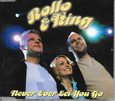 ROLLO & KING - Never ever let you go CD SINGLE 2TR EUROVISION 2001 DENMARK