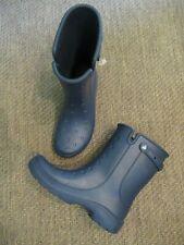 CROCS Reny II Navy Blue Rain Boots Mens 10 Womens 12 #16010 WORN ONCE