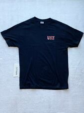 Know Wave Chest Logo Tee Black Size Large 100% Authentic Used