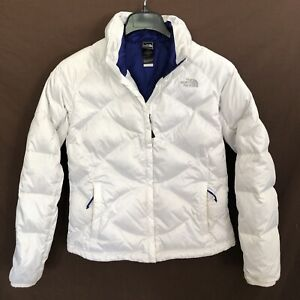 The North Face Aconcagua 550 Fill Down Puffer Jacket Medium Womens Winter White
