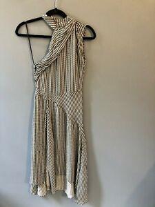 Reiss One Shoulder Dress Size UK 6