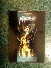 METROPOLIS FRITZ LANG film movie   carte postale postcard