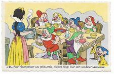 Carte Postale - WALT DISNEY - Edition Superluxe Paris  Blanche Neige  N°14