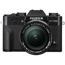 Fujifilm X-T20 Mirrorless Digital Camera with 18-55mm Lens (Black) BRAND NEW