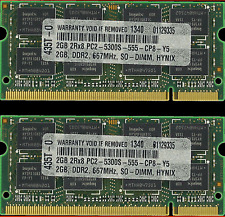 4GB (2X2GB) MEMORY FOR DELL XPS M1330 M1530 M1730 M2010 M1210 M1710