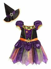 Halloween Enchanted Witch Fancy Dress Hat Dressing up Costume Age 7-8 H15
