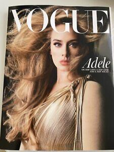 VOGUE Magazine 2021 November Adele  unread subscriber copy Mail worldwide