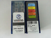 10pcs LAMINA APMT 1604 PDTR LT30 carbide inserts New Free Shipping