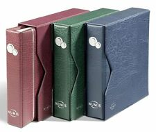 NUMIS Coin Album incl. 5 Pockets and Slipcase - BLUE