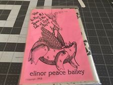"Elinor Peace Bailey ""When The Muse Met Pigasus, It Was Love At First Flight�"