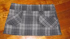Plaids & Checks Regular Hand-wash Only Mini Skirts for Women