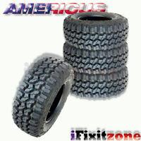 4 Americus Rugged MT LT235/75R15 104/101Q C/6 All Terrain Mud Tires