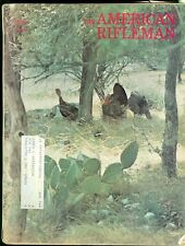 1974 American Rifleman Magazine: Wild Turkeys- Texas Hill Country