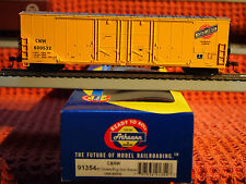 ATHEARN READY TO ROLL CHICAGO & NORTWESTERN SYSTEM 50'.EVANS DOUBLE PLUG BOX CAR
